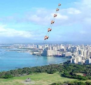 Velas voladoras | cometas que generan energía…