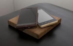 ADzero – Smartphone tallado de un pedazo de Bambú